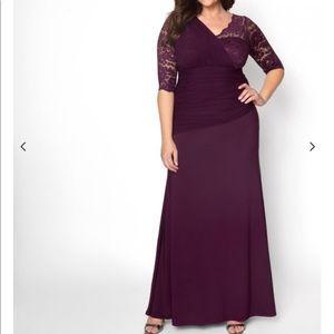 NWT Kiyonna  Soiree Evening Gown